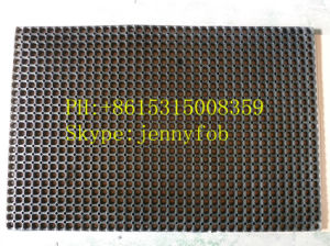 Anti-Fatigue Porous Parlor Rubber Ring Mat, Rubber Floor Mat pictures & photos