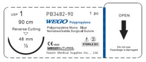 Big Size Polypropylene Surgical Sutures pictures & photos