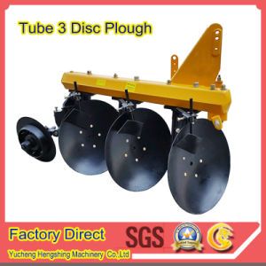 Agricultural Equipment Tube 3 Discs Plow for Jm Tn Yto Tractor pictures & photos