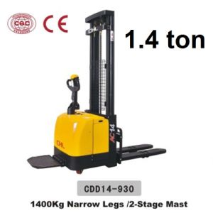 1.4 Ton Electirc Stacker Electric Lifts with CE Certificate (CDD14-930) pictures & photos