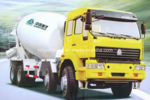 Sinotruk Golden Prince 8X4 10-16m3 Concrete Mixer Truck pictures & photos