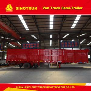 3 Axle Cargo Box Trailer Van Truck Semi-Trailer pictures & photos