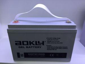 Gel Battery, Solar Battery, 6gfm100g, 12V100ah, Car Battery, Deep Cycle Gel Battery pictures & photos