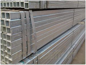 Formwork Support Beam Square Steel Tube Scaffolding Beams pictures & photos
