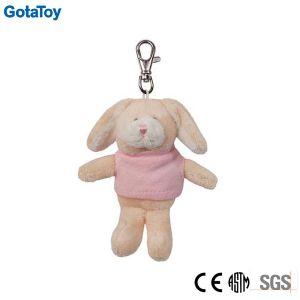 Custom Plush Rabbit Keychain Stuffed Animal Key Ring pictures & photos