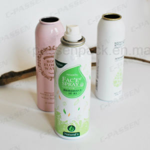 Aluminum Skincare Aerosol Spray Can with Offset Printing (PPC-AAC-023) pictures & photos