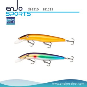 Lifelike Stick Bait Deep Diving Fishing Tackle Lure with Vmc Treble Hooks (SB1213) pictures & photos
