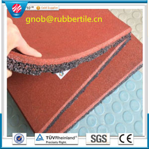 Rubber Floor Tile, Recycle Colorful Rubber Paver pictures & photos