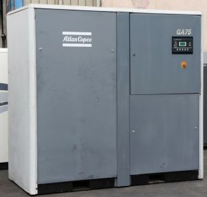 Ga75 75kw Secondhand Atlas Copco Used Industrial Air Compressor pictures & photos