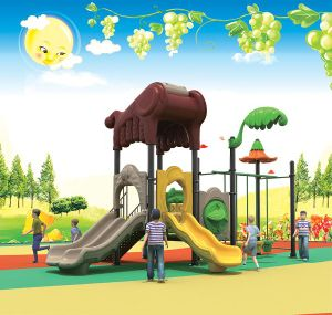 Colorful and Cheaper Outdoor Slide for Kids pictures & photos