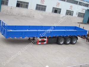 Ctac Brand 20ton- 60ton Tri-Axles Side Wall Semi-Trailer pictures & photos