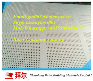 Direct Selling Perforated Gypsum Plasterboard pictures & photos
