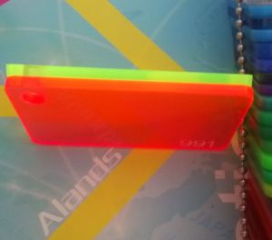 High Quality Fluorescent Colors Acrylic Sheet with Best Price pictures & photos