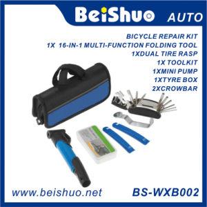 Cycling Bike Repair Tool Bag Tyre Tool Mini Pump Patch Kit pictures & photos