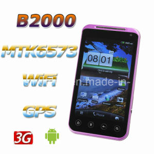 B2000 MTK6573 Android 2.3 WCDMA 4.3 Inch Capactive Smart Phone GPS WiFi