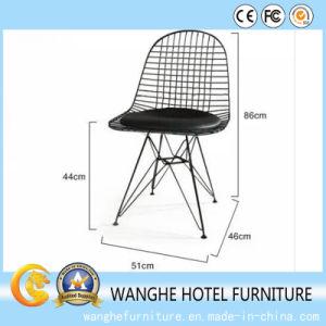 Hotel Banquet Furnitue Metal Wire Chair High Bar Chair pictures & photos