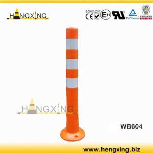 Wb604 Soft PU Warning Posts/Warning Bollards/Flexible Traffic Bollard/Bollard