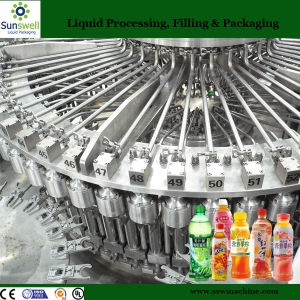 3-in-1 Pet Bottled Fruit Juice Filling Line (6000BPH) pictures & photos