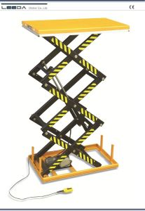 Three Scissor Lift Table (HL-T SERIES) pictures & photos