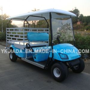 2 Seat Electric Food Kart with Cargo Truck (JD-GE502D) pictures & photos