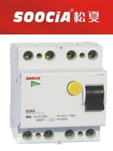 Sxr3 RCCB Residual Current Circuit Breaker Pfim 4p