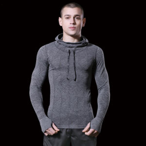 Wholesale Custom Fitness Hoodie for Men Sports pictures & photos