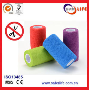 25mm Non-Woven Cohesive Tape Bandage pictures & photos