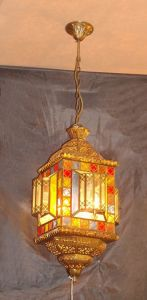 Copper Pendant Lamp with Glass Decorative 18985 Pendant Lighting pictures & photos