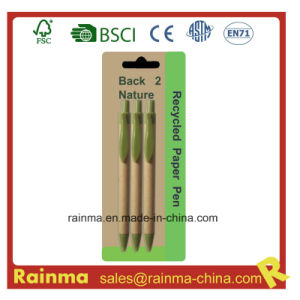 Paper Recycled Ball Pen for Gift pictures & photos