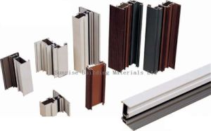 Shaped Aluminum Profile for Constuction/Industrial Use pictures & photos
