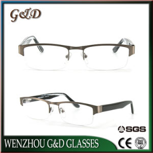 New Design Stainless Spectacle Frame Optical Frame for Man 46-058 pictures & photos