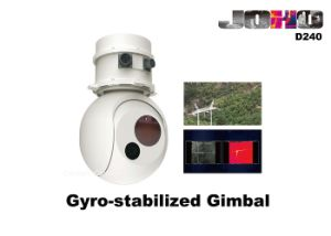 Uav Eo IR Gimbal with Thermal Camera and Day Light Camera pictures & photos