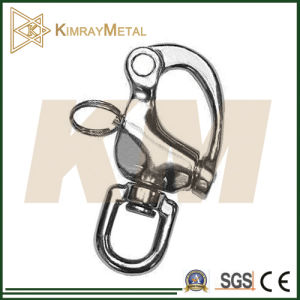 Stainless Steel Swivel Snap Shackle with Eye End pictures & photos