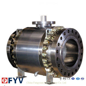 China Best API 6D 3 Piece Flange Ball Valve pictures & photos
