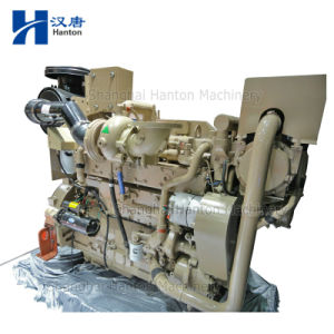 Cummins KTA19-DM marine diesel motor engine with alternator for generator set pictures & photos