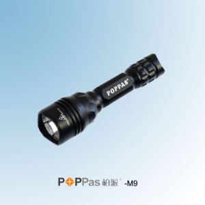 5 Function Rechargeable CREE T6 Hunting LED Flashlight (POPPAS- M9) pictures & photos