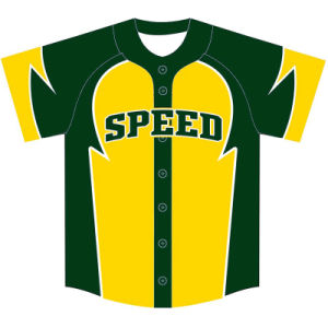 Custom Youth Sublimated Baseball Jersey for Teams pictures & photos