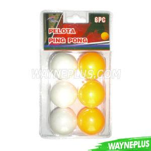 Pelota Ping Pong Ball 6PCS Pack - Wayneplus pictures & photos