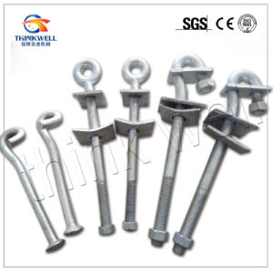 Factory Price Galvanized Curved Ground Pole Anchor Rod pictures & photos