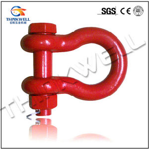 U. S. Type Red Color G2130 Bolt Pin Anchor Shackle pictures & photos
