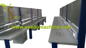 Industrial Traning Equipment Electrician Training Workbench Electrician Trainer Didactic Equipment pictures & photos