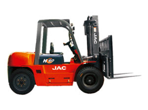 JAC Brand New Forklift/ 6ton Diesel Forklift Truck pictures & photos