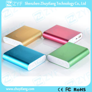 Aluminium Case 10400mAh Power Bank with Logo (ZYF8035) pictures & photos