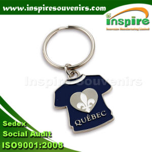 Fancy Metal Customized T-Shirt Keychain pictures & photos