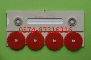 Type T 20*10cm Magnetic Material Card Storage Card Warehouse Card with Numbers pictures & photos