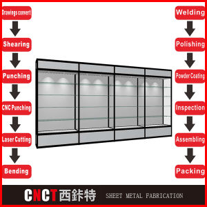 Hot Sale Strong Stainless Steel 304 Book Display Rack pictures & photos