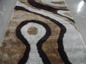 OEM Korean Silk Shag Rugs Ksm0160 pictures & photos
