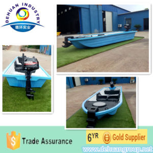 Electric Fishing Boat 4 Person Plus