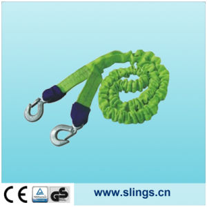 SLN 100% Polyester Winch Straps with Chain Hook pictures & photos