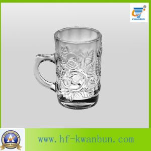 Hot! Popular New Design Glass Beer Cup with Handle Good Price Glassware Kb-Hn0110 pictures & photos